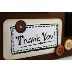 Klappkarte Thank You D_3_7