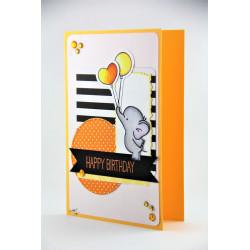 Klappkarte Happy Elefant G_16